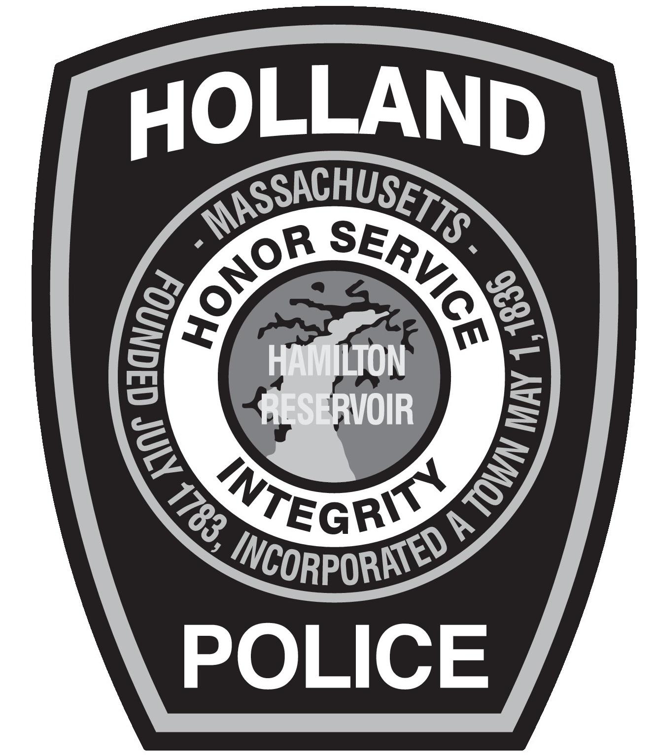 Sponsor Holland police Department