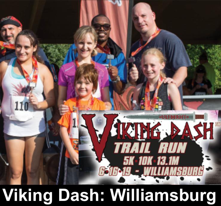 2019 Viking Dash Trail Run: Williamsburg